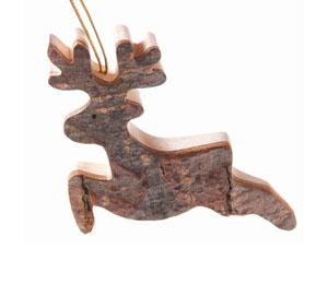 cervo de madeira