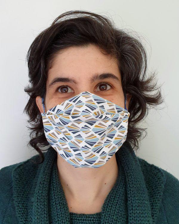 máscara de protecção social reutilizavel