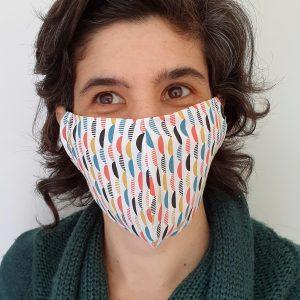 Máscara de Uso Social Reutilizável Bico de Pato
