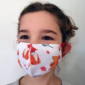 Máscara de Uso Social Reutilizável Criança