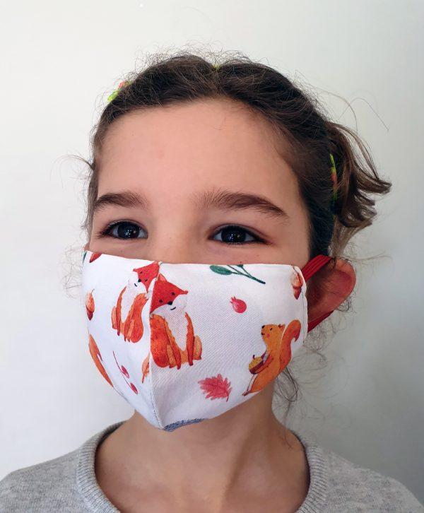 mascara de protecção social criança