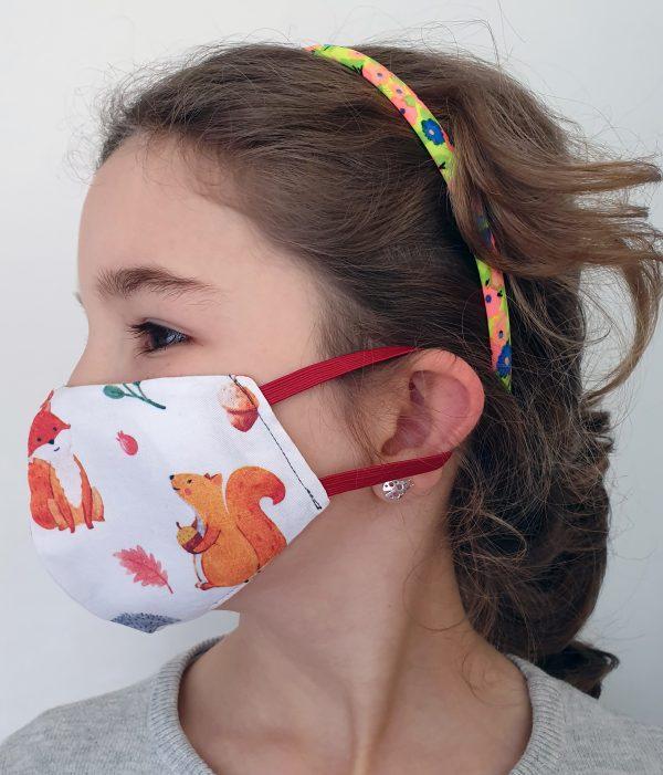 mascara protecção social de criança