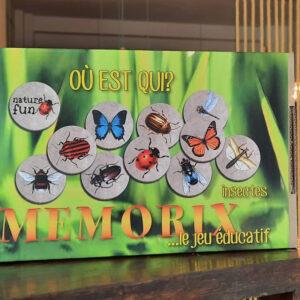 Jogo da Memória com Insectos