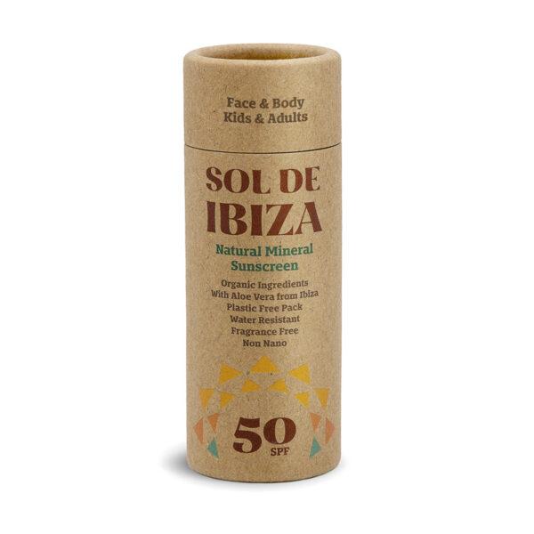 protector solar sol de ibiza protecção 50