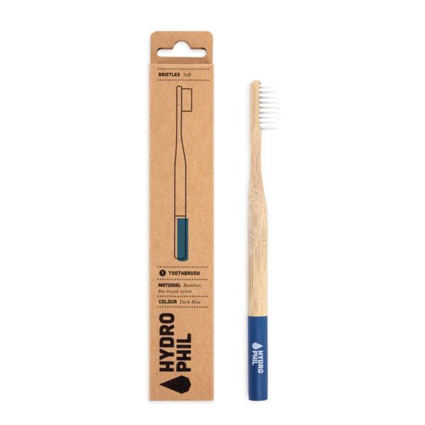 escova de bambu cabo azul hydrophil