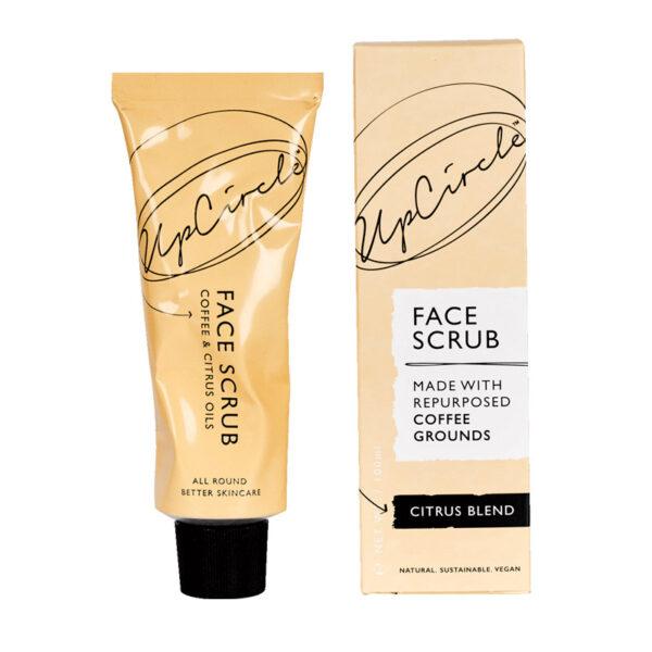 esfoliante facial com borras de café upcircle
