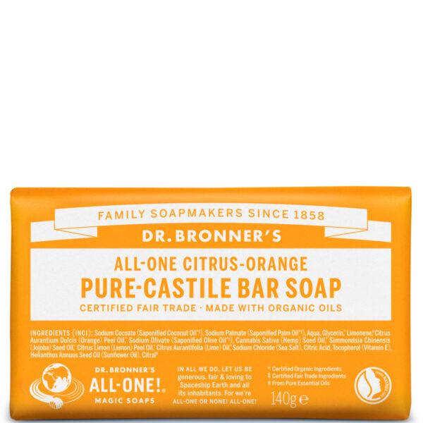 sabonete organico dr. bronners laranja
