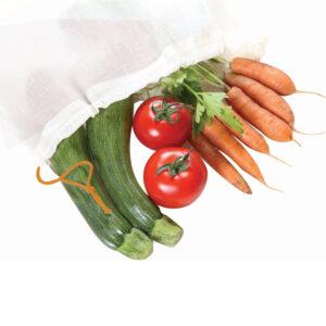 Sacos de Legumes em Algodão